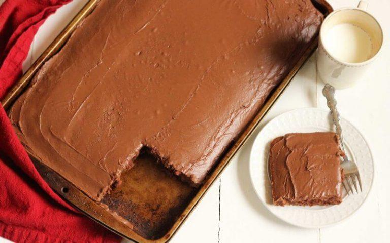 Texas Chocolate Sheet Cake