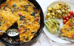 Spicy Sausage Frittata