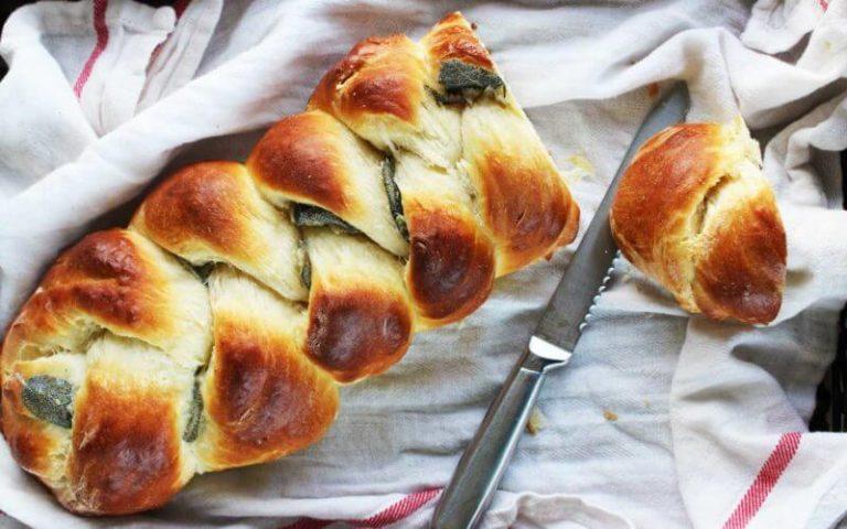 Sage Braid Bread