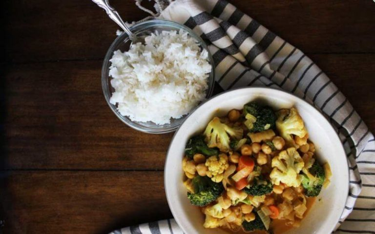 Coconut Curry Vegetables