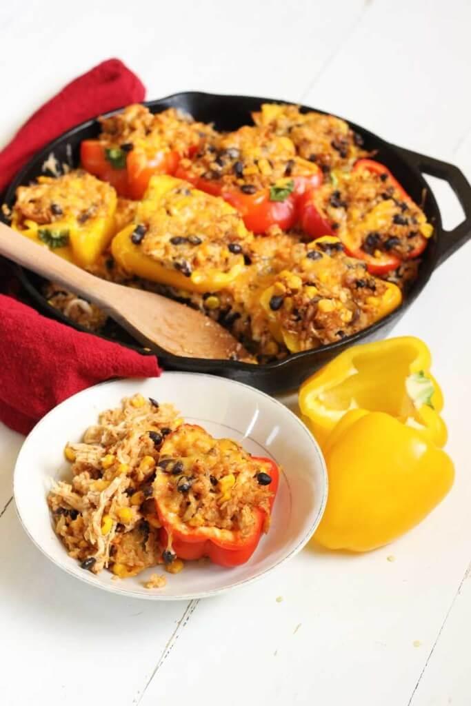 Southwestern Stuffed Bell Peppers