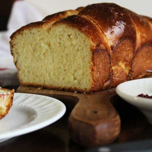 Buttery Brioche Bread