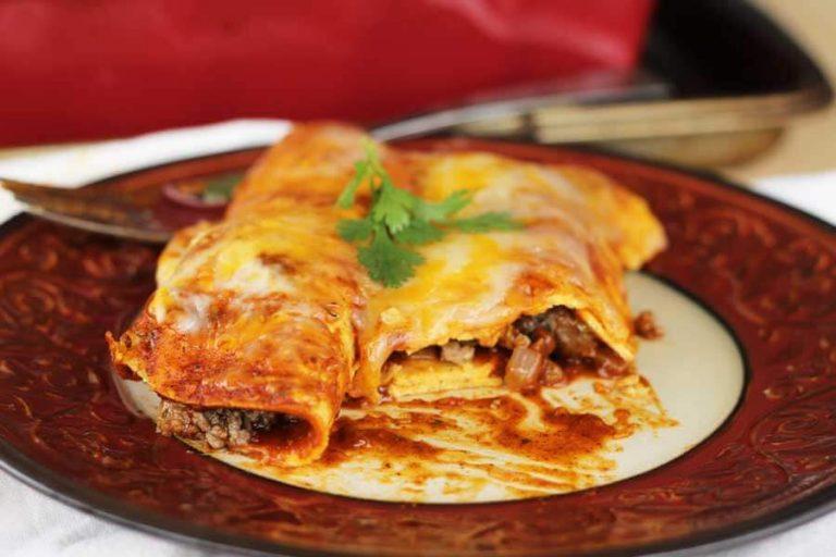 Tex Mex Beef Enchiladas