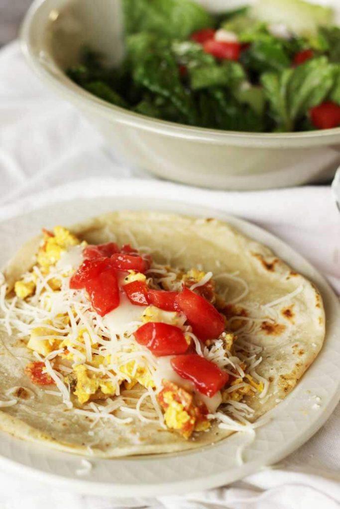 The Italian Breakfast Taco
