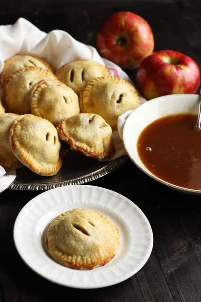 Apple Hand Pies with Caramel Apple Sauce