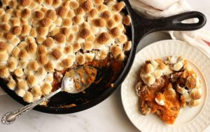 Sweet Potato Pecan Crumble