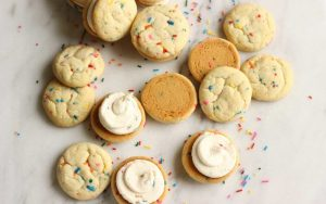 Funfetti Cookie Sandwiches