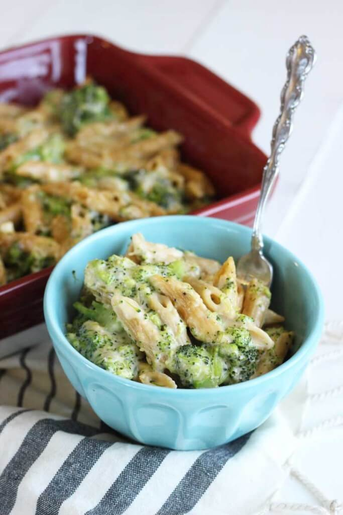 Broccoli Mac and Cheese with Whole Wheat Penne