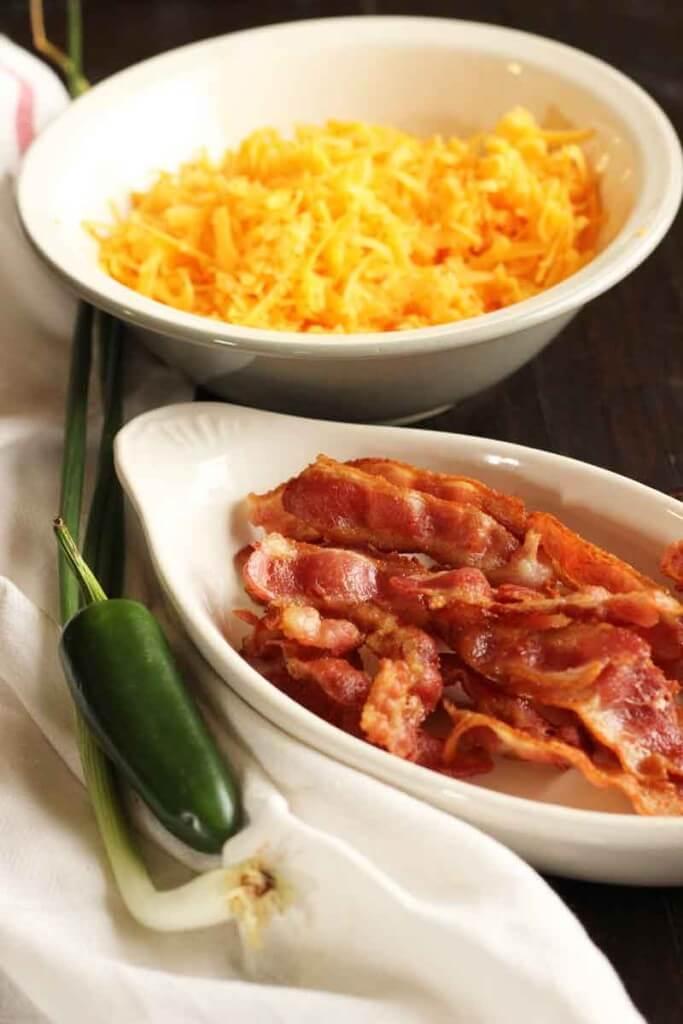 Bacon Cheddar Jalapeno Scones