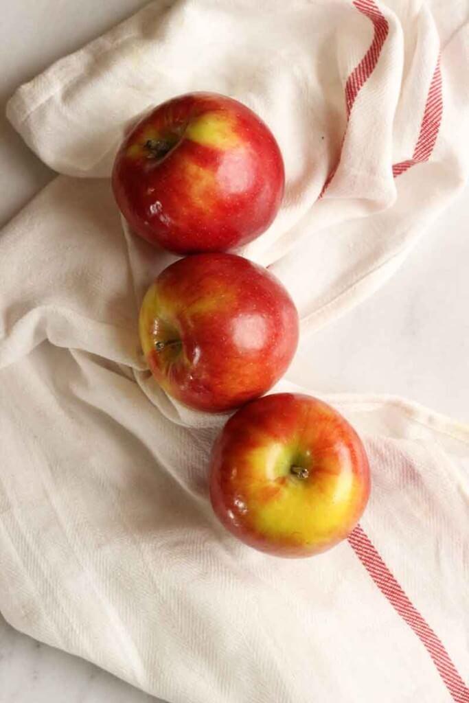 Apple Honey Galette