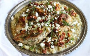 Sun-Dried Tomato Chicken and Quinoa